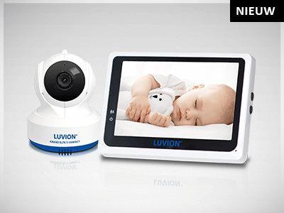 Luvion Grand Elite 3 Connect babyfoon met camera en app