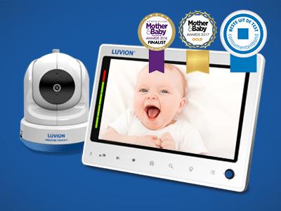 Luvion Prestige Touch 2 babyfoon beste getest consumentenbond