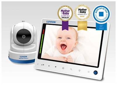 luvion prestige touch 2 babyfoon met meerdere camera's