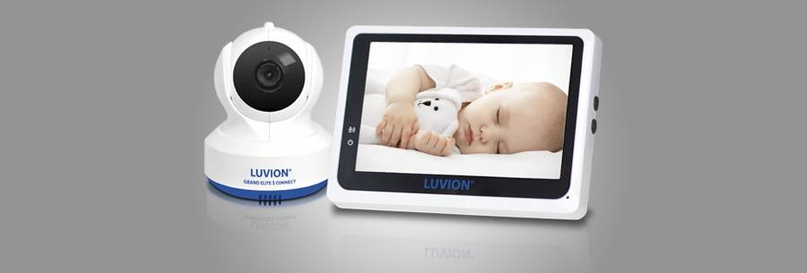 luvion grand elite3 babyfoon met camera en app