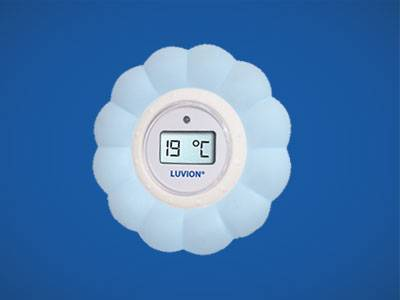 Luvion Bath Thermometer Blue