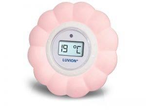 Luvion badthermometer roze