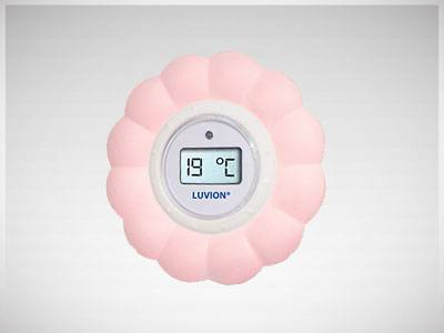Luvion Baby Room Thermometer Pink