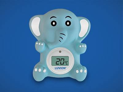 Luvion digitale Kamerthermometer baby olifant