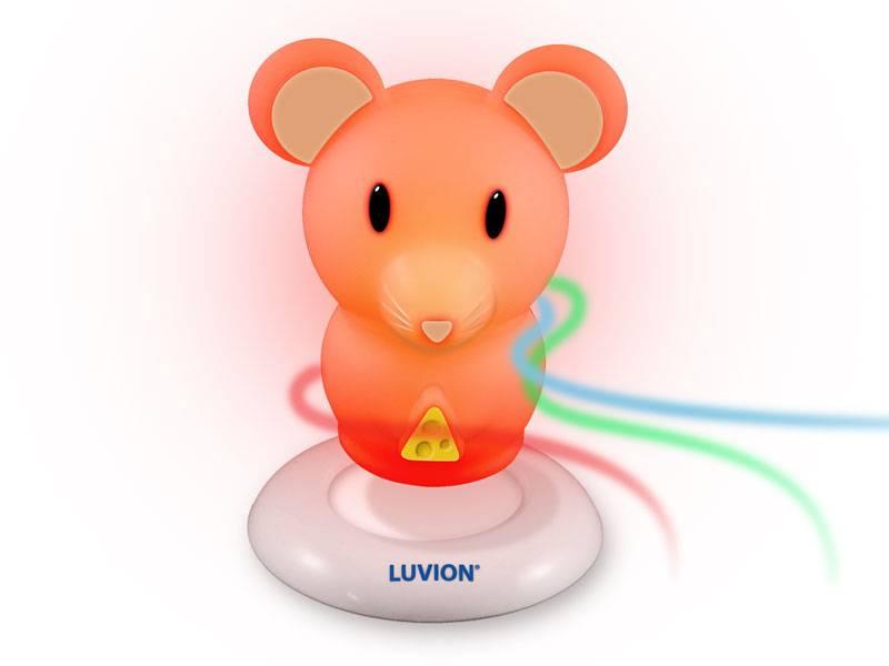 Luvion led babylamp muis