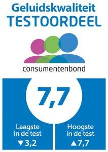 Testoordeel Geluidskwaliteit Prestige Touch 2 Consumentenbond