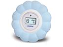blauwe badthermometer