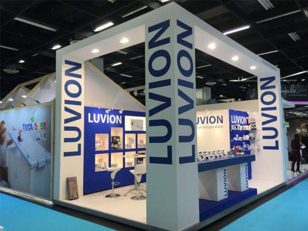 Luvion expo stand