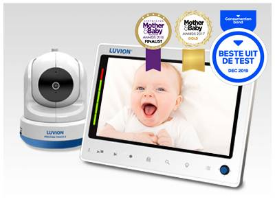 Luvion Prestige Touch 2 Best video baby monitor mother & baby magazine