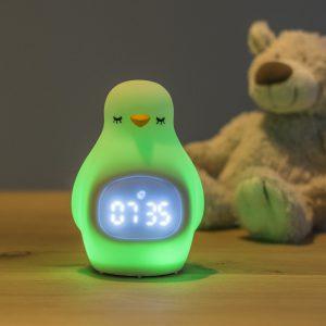 luvion pinguin slaaptrainer met lampje