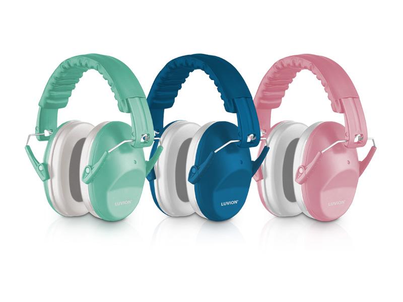Luvion gehoorbeschermers voor baby en kind verschillende kleuren