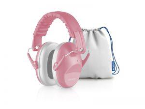 Luvion gehoorbeschermer baby dusty pink