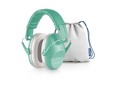 Luvion gehoorbeschermer baby misty mint